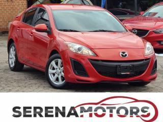 Used 2011 Mazda MAZDA3 GX | AUTO | SEDAN | ONE OWNER | NO ACCIDENTS for sale in Mississauga, ON