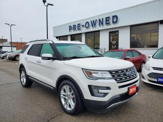 Used 2016 Ford Explorer LIMITED for sale in Brantford, ON