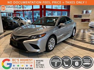 Used 2020 Toyota Camry SE - Accident Free / Local / No Dealer Fees / One Owner for sale in Richmond, BC