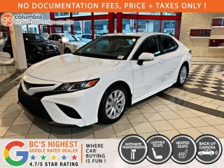 Used 2020 Toyota Camry SE - Accident Free / No Dealer Fees / Heated Seats for sale in Richmond, BC