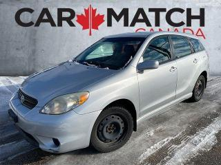 Used 2005 Toyota Matrix XR / AUTO / POWER GROUP for sale in Cambridge, ON