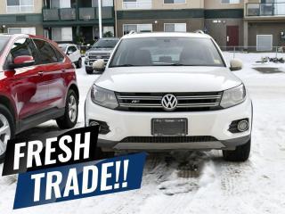 Used 2017 Volkswagen Tiguan Highline for sale in Red Deer, AB
