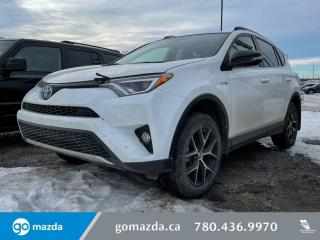 Used 2018 Toyota RAV4 SE - LEATHER, HEATED SEATS, AWD, LOW LOW KM. HOT DEAL! for sale in Edmonton, AB