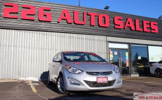 Used 2015 Hyundai Elantra Sport Appearance|HEATED SEATS|TRACTION CONTROL| for sale in Brampton, ON