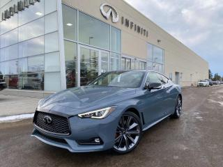 New 2021 Infiniti Q60 RED SPORT I-LINE for sale in Edmonton, AB
