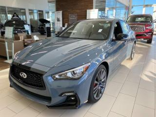 New 2021 Infiniti Q50 Red Sport I-LINE ProACTIVE for sale in Edmonton, AB