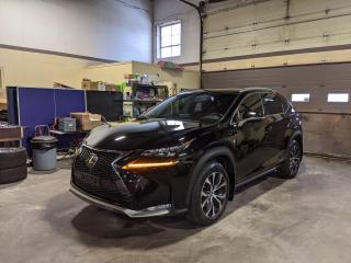 Used 2017 Lexus NX 200t/F-Sport/ Red Int/Loaded!!/1 Owner/Nav+BSM+PDC for sale in North York, ON