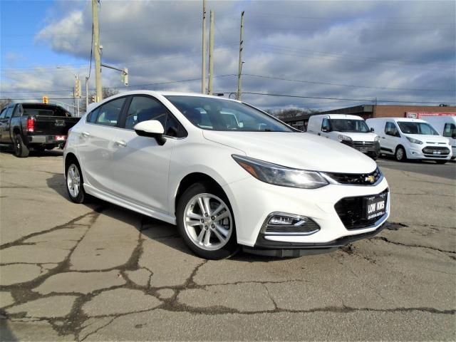 2017 Chevrolet Cruze 4dr HB 1.4L LT w/1SD LOW KM SAFETY B-CAMERA B-TOOT
