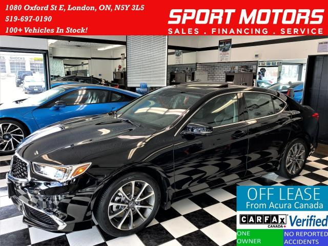 2018 Acura TLX AWD+Apple Play+ACC+LKA+Camera+ACCIDENT FREE