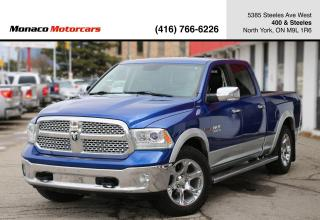 Used 2014 RAM 1500 LARAMIE ECODIESEL - LEATHER|BACKUP|AIR SUSPENSION for sale in North York, ON