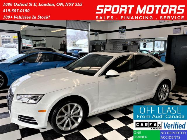 2017 Audi A4 Progressiv AWD+Camera+GPS+ApplePlay+ACCIDENT FREE
