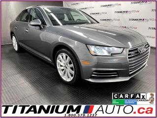 Used 2017 Audi A4 Quattro+Camera+Parking Aid+Heated Wheel+Apple Play for sale in London, ON