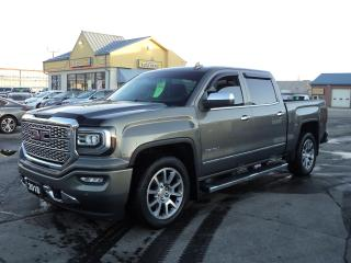 Used 2018 GMC Sierra 1500 Denali CrewCab 4x4 5.3L 5.5ftBox LeatherRoofNav for sale in Brantford, ON