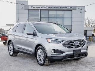 Used 2020 Ford Edge Titanium FORD CERTIFIED PRE-OWNED 2.9% APR for sale in Winnipeg, MB