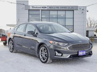 Used 2019 Ford Fusion Hybrid Titanium FORD CERTIFIED PRE-OWNED for sale in Winnipeg, MB