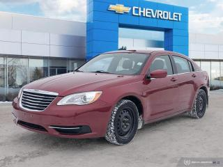 Used 2013 Chrysler 200 LX for sale in Winnipeg, MB