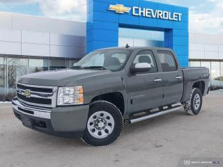 Used 2011 Chevrolet Silverado 1500 LS Cheyenne Edition Crew Cab | 4WD for sale in Winnipeg, MB