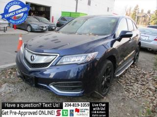Used 2017 Acura RDX Tech Navi Camera 1ownr Leather Sunroof NO ACCIDENT for sale in Winnipeg, MB