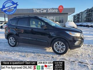 Used 2017 Ford Escape 4WD SE Sunroof Leather Rear Cam Push start 1owner for sale in Winnipeg, MB