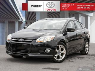 Used 2012 Ford Focus SEL for sale in Whitby, ON