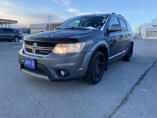 Used 2013 Dodge Journey CREW - REAR SEAT LCD SCREEN, SEAT/WHEEL HEAT for sale in Kingston, ON