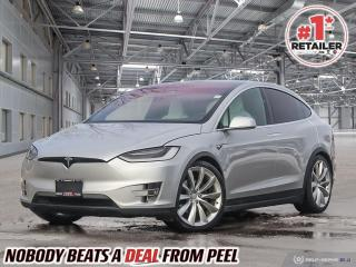 Used 2017 Tesla Model X 90D 6Pass NEW Brakes Cooled Seats Carbon Fiber EV for sale in Mississauga, ON