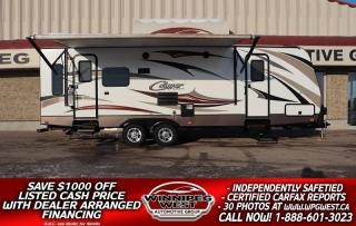 Used 2015 Keystone RV Cougar X-Lite 28RLS REAR LOUNGE DUAL ENTRANCE, HALF-TON PULLABLE for sale in Headingley, MB