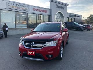 Used 2017 Dodge Journey GT AWD w/Leather, Sunroof, Navi, 7-Passenger, DVD for sale in Hamilton, ON