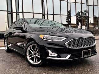 Used 2019 Ford Fusion Hybrid VENTED MEMORY SEATS|SUNROOF|NAVIGATION|REAR VIEW| ALLOYS! for sale in Brampton, ON