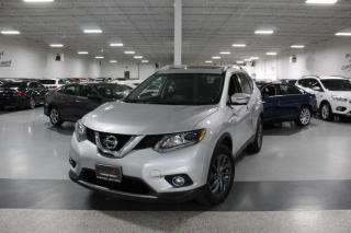 2016 Nissan Rogue SL NO ACCIDENTS I NAVIGATION I LEATHER I PANOROOF I REAR CAM