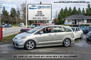 Used 2006 Mazda MAZDA5 GT 5-Door Wagon, 6-Passenger, Sunroof, Rare Manual + Alloys for sale in Surrey, BC