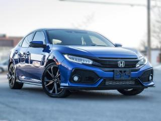Used 2018 Honda Civic Sedan HATCHBACK | Touring| Manual|NAV |ACC|ROOF |LOADED for sale in North York, ON