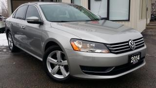 Used 2014 Volkswagen Passat Comfortline -LEATHER! SUNROOF! ACCIDENT FREE! for sale in Kitchener, ON