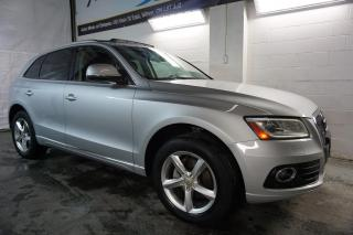 Used 2013 Audi Q5 NAVI CAM BLIND SPOT CERTIFIED 2YR WARRANTY PANO ROOF FRONT/BACK SENSORS for sale in Milton, ON