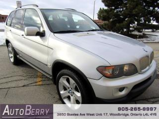 Used 2004 BMW X5 4.4i for sale in Woodbridge, ON