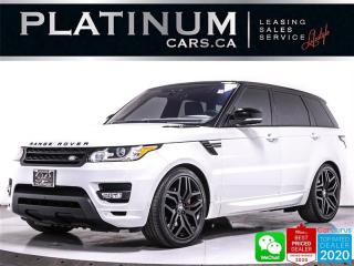 Used 2017 Land Rover Range Rover Sport HSE Dynamic, HST LE, 480 HP, HEATED, LANE ASSIST for sale in Toronto, ON