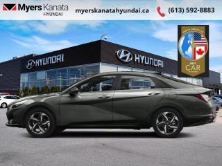 New 2021 Hyundai Elantra Ultimate IVT w/Grey Seats  - $164 B/W for sale in Kanata, ON