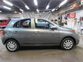 Used 2017 Nissan Micra SV MANUELLE MAIN LIBRE*BAS KILOMÉTRAGE for sale in Lévis, QC