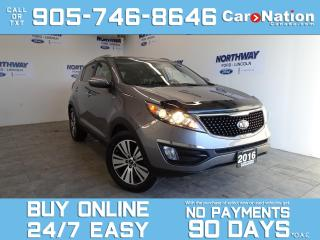 Used 2016 Kia Sportage EX | AWD | BLUETOOTH | REAR CAM | TOUCHSCREEN for sale in Brantford, ON