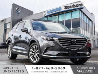 Used 2019 Mazda CX-9 0.99%FINANCE|CPO|SIGNATURE|1 OWNER|CLEAN CARFAX for sale in Scarborough, ON