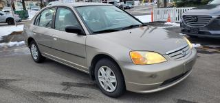 Used 2003 Honda Civic 4dr Sdn DX-G Auto/ NO ACCIDENTS REPORTED for sale in Scarborough, ON