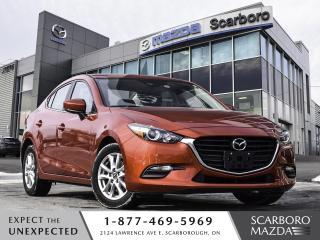 Used 2018 Mazda MAZDA3 0.99%FINANCE CPO GS BLIND SPOT MONITORING for sale in Scarborough, ON