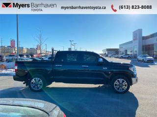 Used 2019 Toyota Tundra Platinum  - Navigation -  Sunroof - $364 B/W for sale in Ottawa, ON