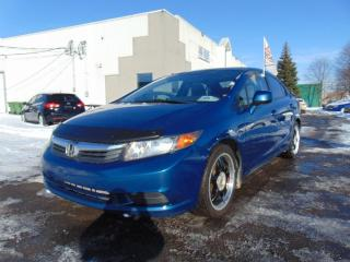 Used 2012 Honda Civic EX 4 portes, boîte automatique for sale in St-Eustache, QC