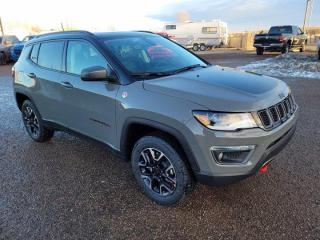 New 2021 Jeep Compass Trailhawk Elite | Alpine Sound | Navigation | Dual Sunroof for sale in Medicine Hat, AB