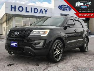 Used 2017 Ford Explorer SPORT for sale in Peterborough, ON