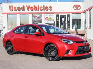 Used 2015 Toyota Corolla LE YES WE ARE OPEN REV-CAMERA  +WINTER-TIRES for sale in North York, ON