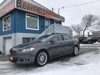 Used 2016 Ford Fusion SE AWD **Leather/Sunroof/Navigation** for sale in Barrie, ON