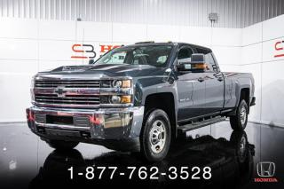 Used 2018 Chevrolet Silverado 2500 WT + 6.6L DIESEL + 4X4 + CREW + 8' + W for sale in St-Basile-le-Grand, QC