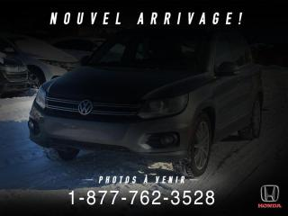 Used 2014 Volkswagen Tiguan HIGHLINE + 4MOTION + CUIR + TOIT + WOW! for sale in St-Basile-le-Grand, QC
